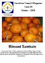 Edição 26 de outubro de 2008 Vol 1 Bendito Samhain